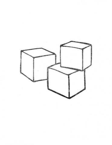 Раскраска кубики
