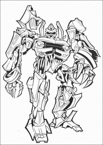 Раскраска Трансформеры