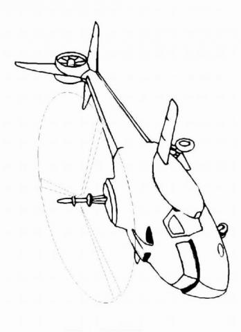 Раскраски вертолеты | РАСКРАСКУ .РФ - распечатать и скачать