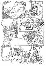 Раскраска комикса Друзья Ангелов