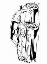 Раскраски легковые автомобили