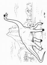 """Раскраска """"Динозавр"""""""