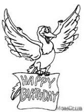 Раскраска с днем рождения орленок