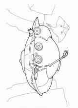 Раскраски Подводные аппараты