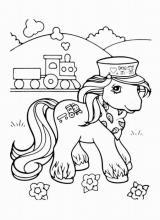 """Раскраска """"Лошадь"""""""